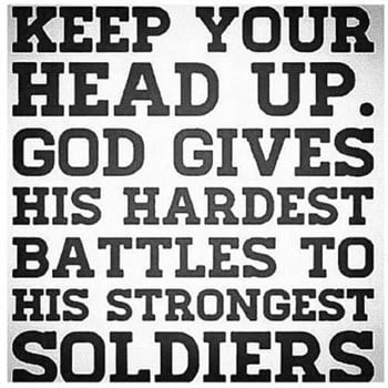 Keep Your Head Up - Quote