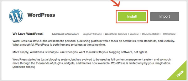 How To Start A Blog - Install WordPress