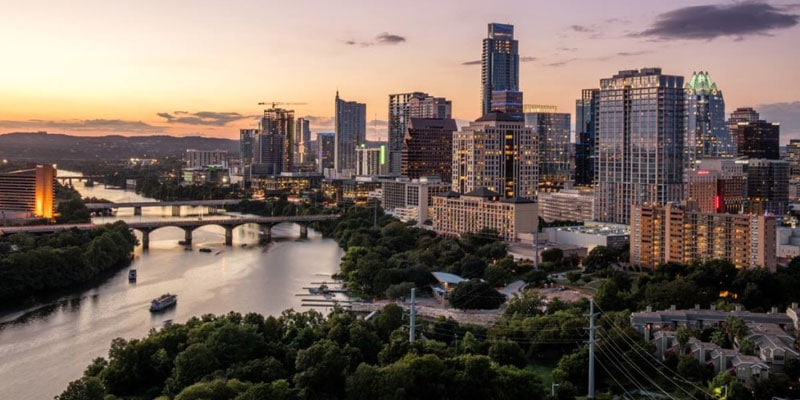 Best Places To Live in US - Austin Texas