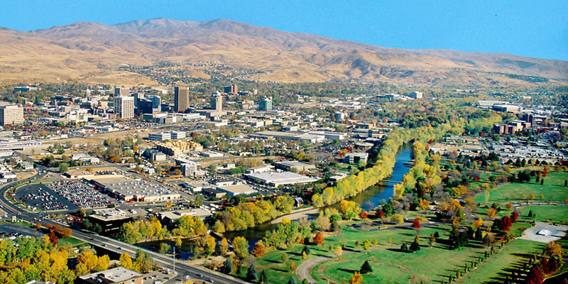 Best Places To Live in US - Boise Idaho