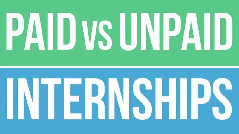 Paid vs Unpaid Internships